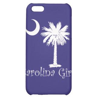 Caja blanca/púrpura del iPhone 4 del chica de Caro