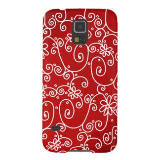 Caja blanca roja del teléfono de la galaxia S5 de Carcasas Para Galaxy S5