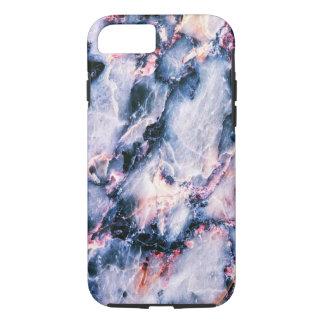 Caja blanca rosada azul del iPhone 7 de la textura Funda iPhone 7