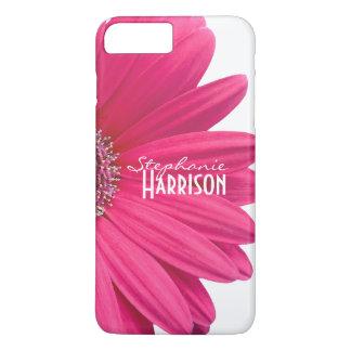 Caja blanca rosada del iPhone 6 de la margarita Funda iPhone 7 Plus