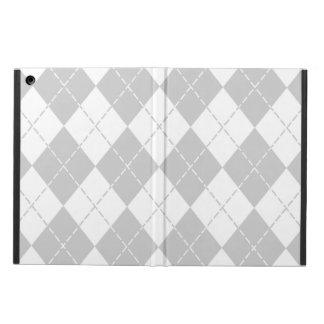 Caja blanca y gris del aire del iPad de Argyle