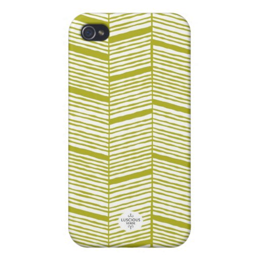 Caja blanca y verde incompleta del iPhone iPhone 4/4S Fundas