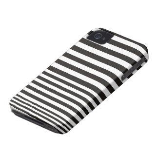 Caja blanco y negro 4S del iPhone 4 de la iPhone 4 Case-Mate Cárcasa