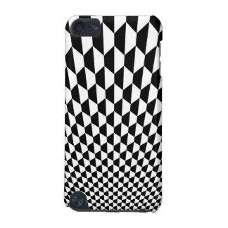 Caja blanco y negro de IPod Funda Para iPod Touch 5G