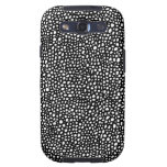 Caja blanco y negro de la galaxia S3 de Samsung de Galaxy S3 Cobertura