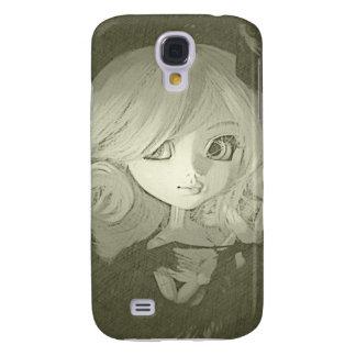 Caja blanco y negro de Samsung S4 de la muñeca del