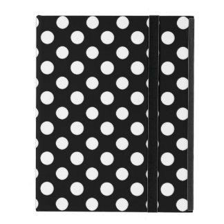 Caja blanco y negro del iPad del modelo de lunar