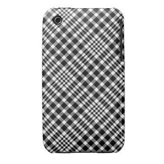 Caja blanco y negro del iPhone 3/3GS iPhone 3 Case-Mate Funda