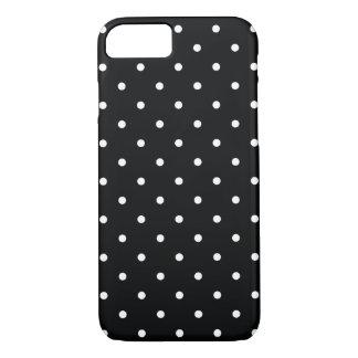 caja blanco y negro del iPhone 7 del lunar del Funda iPhone 7