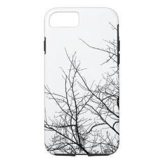 Caja blanco y negro del iPhone de las ramas de Funda iPhone 7