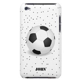 Caja blanco y negro del tacto de iPod del balón de Case-Mate iPod Touch Cobertura