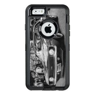 Caja blanco y negro del teléfono de Camaro Funda OtterBox Defender Para iPhone 6