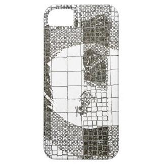 Caja blanco y negro del teléfono de no. 1 del iPhone 5 carcasas