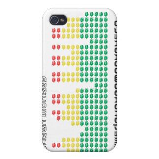 Caja borracha del equalizador del iPhone 4 del mon iPhone 4/4S Carcasas