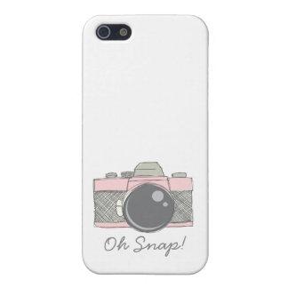 Caja bosquejada del iphone de la cámara iPhone 5 carcasas