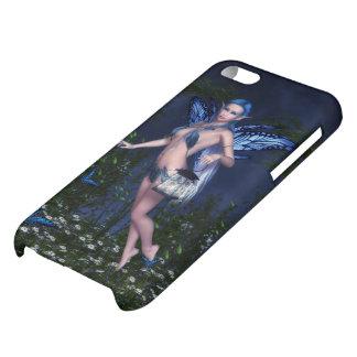 Caja brillante de hadas azul del iPhone 5C