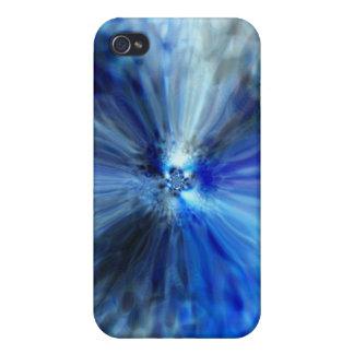 Caja brillante del iPhone 4 del ojo azul iPhone 4 Protector
