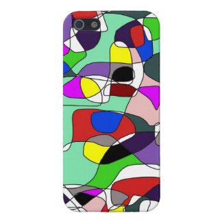 Caja brillante del teléfono 5 abstractos de la com iPhone 5 carcasas