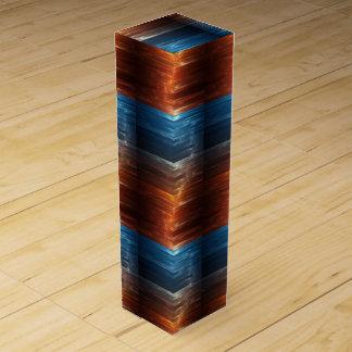 Caja brillante del vino de la fibra cajas para botellas de vino