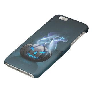 Caja brillante oscura del iPhone 6 de Halloween