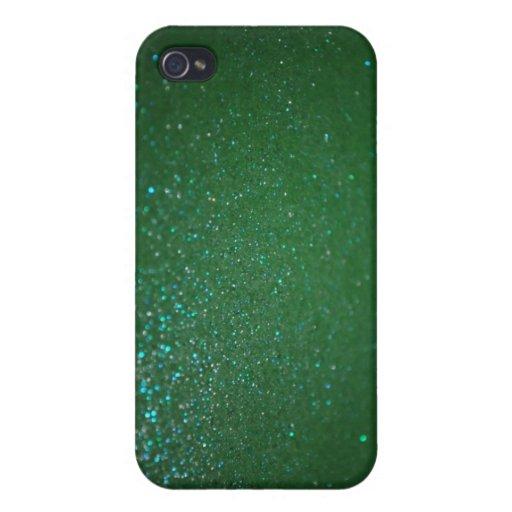 Caja brillante verde del iPhone 4S de los iPhone 4/4S Carcasas