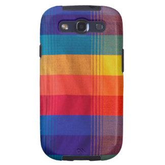 Caja brillante y colorida de la galaxia S3 de la t Samsung Galaxy S3 Protector
