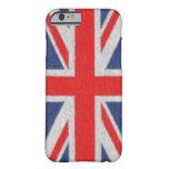 Caja británica apenada del iPhone 6 de la bandera