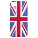 Caja británica de la bandera iPhone5 iPhone 5 Case-Mate Cobertura