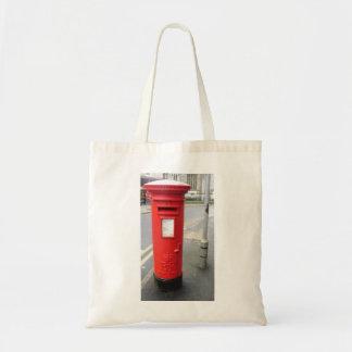 Caja británica del poste bolsa tela barata