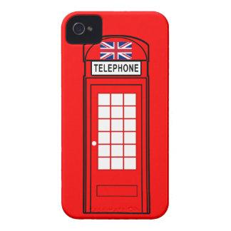 Caja británica del teléfono con Union Jack Case-Mate iPhone 4 Carcasa