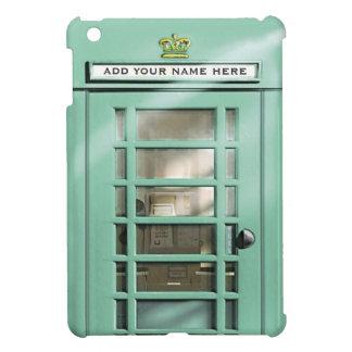 Caja británica del teléfono de la verde menta dive iPad mini coberturas