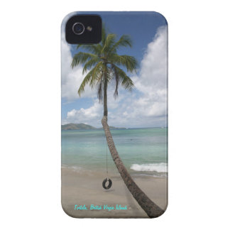 Caja británica del teléfono de las Islas Vírgenes Funda Para iPhone 4