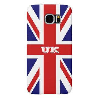 Caja británica del teléfono de Samsung S6 de la Funda Samsung Galaxy S6