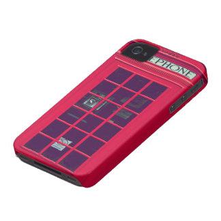 Caja británica original del teléfono iPhone 4 fundas