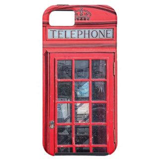 Caja británica roja del teléfono de Londres iPhone 5 Carcasa