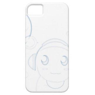 Caja burbujeante del teléfono del muchacho iPhone 5 protector