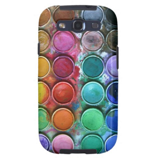 """Caja """"caja de la galaxia S de Samsung de color """" Galaxy SIII Carcasas"""