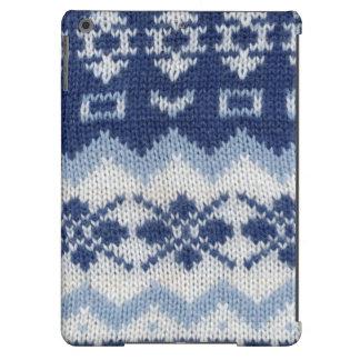 Caja caliente del suéter - azul