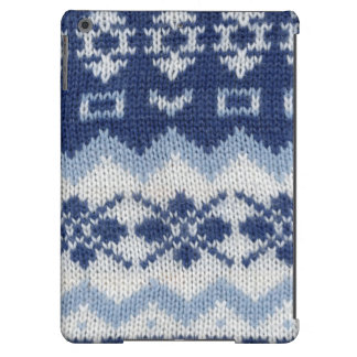 Caja caliente del suéter - azul funda para iPad air