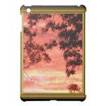 Caja capítulo del iPad de la puesta del sol