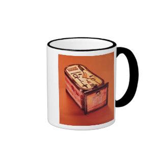caja Cartouche-formada Taza De Café