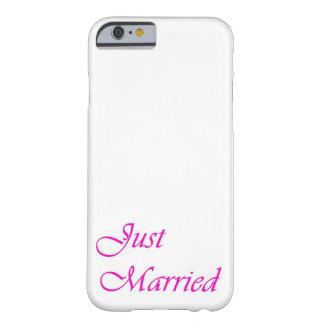caja casada del teléfono del iphone 6 apenas - funda de iPhone 6 barely there