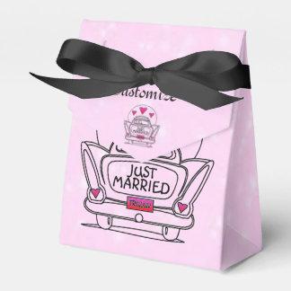 Caja casada personalizada del coche de la luna de cajas para regalos de boda