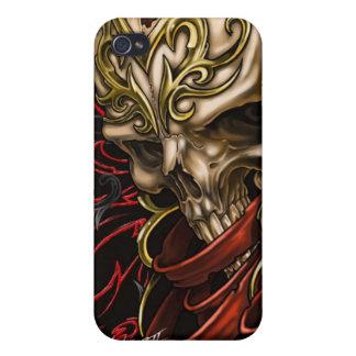 Caja céltica de la mota del cráneo iPhone4 iPhone 4 Funda