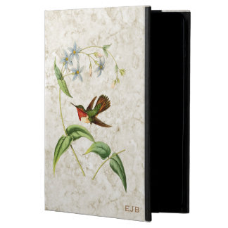 Caja centelleante del aire del iPad del colibrí