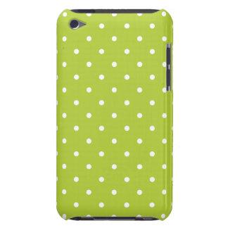 Caja chartreuse del tacto G4 de iPod del lunar del Funda Case-Mate Para iPod