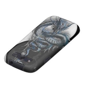 Caja china de la galaxia S3 de Samsung del dragón  Samsung Galaxy S3 Carcasas