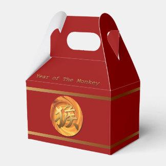 Caja china del favor del Año Nuevo del mono 2016 Cajas Para Regalos