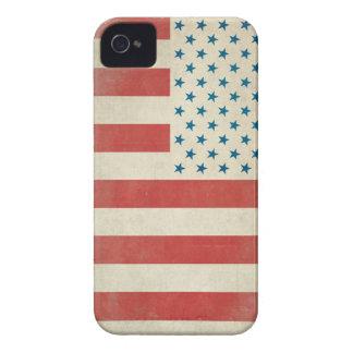 Caja civil de la casamata de la bandera del iPhone 4 funda