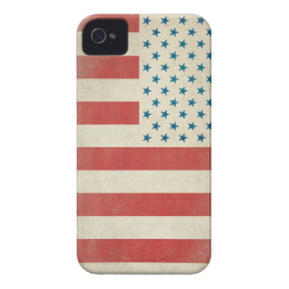 Caja civil de la casamata de la bandera del vintag iPhone 4 Case-Mate cárcasa